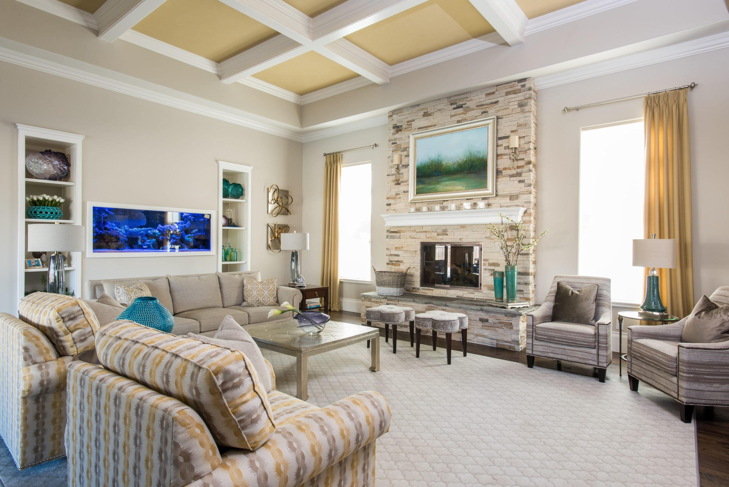 Natural Hues & Blues 5 - Dallas Interior Designer serving Plano, Frisco, Dallas, Allen for Decorating Den Interiors D'KOR HOME by Dee Frazier Interiors