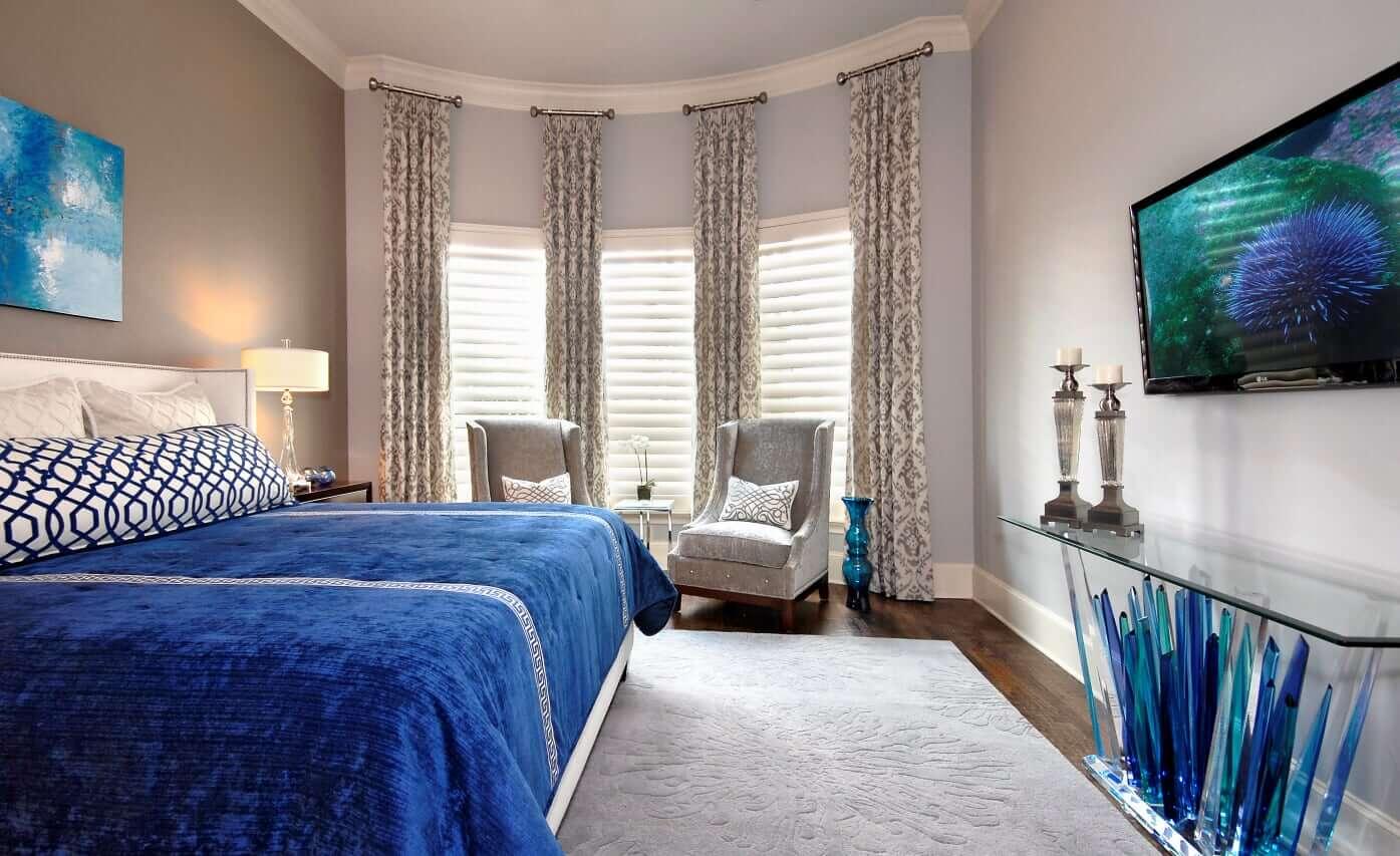Newton Home - Master Bedroom 9 - Dallas Interior Designer serving Plano, Frisco, Dallas, Allen for Decorating Den Interiors D'KOR HOME by Dee Frazier Interiors