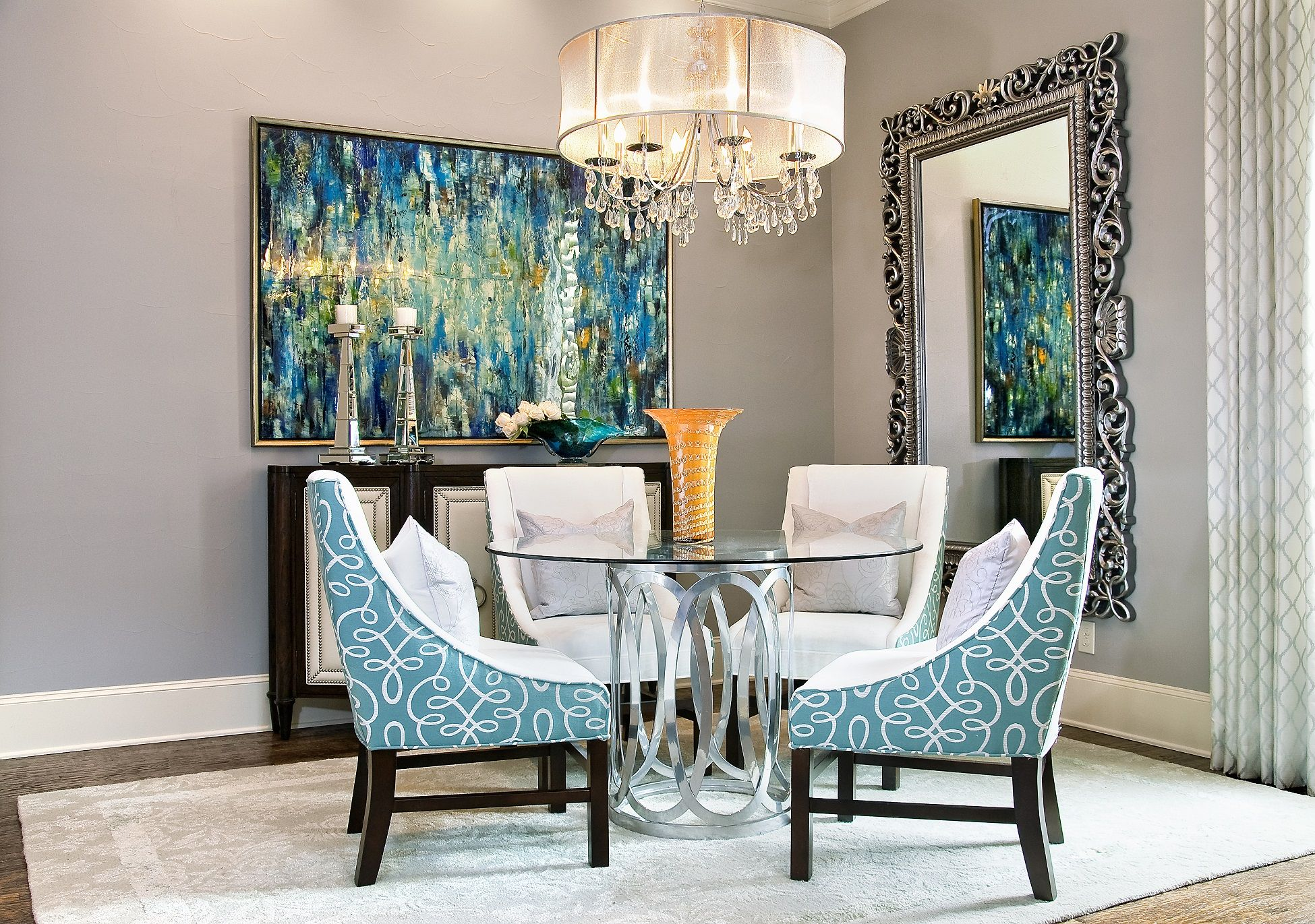 Dive Into a Scuba Diver's Dream Home   5 Organic Foyer & Dining Room Design Ideas 3 - Dallas Interior Designer serving Plano, Frisco, Dallas, Allen for Decorating Den Interiors D'KOR HOME by Dee Frazier Interiors
