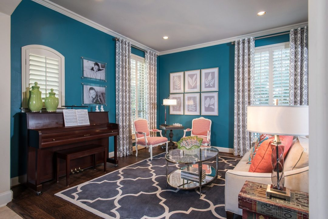 Living Room- McKinney, TX