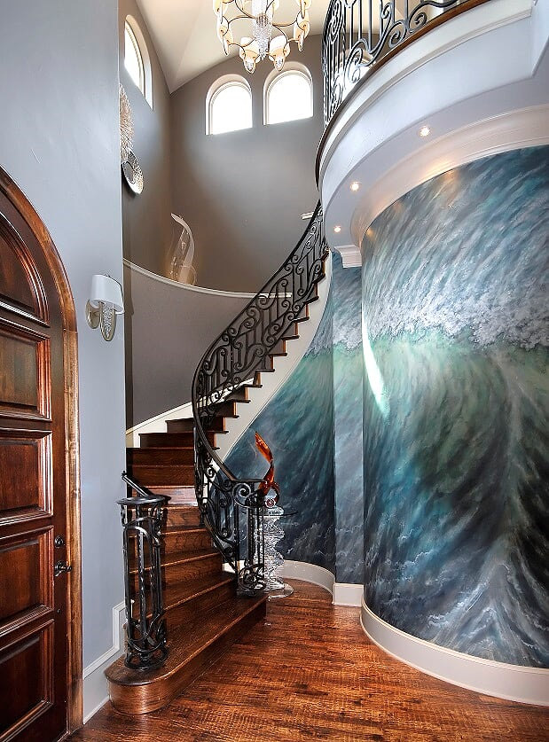 Newton Home - Foyer 10 - Dallas Interior Designer serving Plano, Frisco, Dallas, Allen for Decorating Den Interiors D'KOR HOME by Dee Frazier Interiors