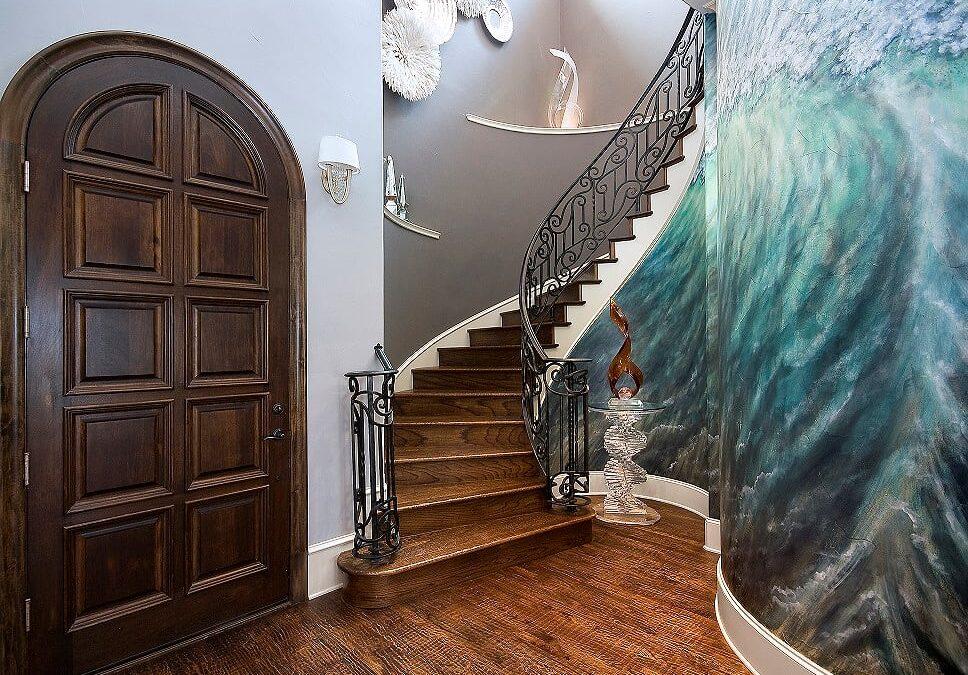 Dive Into a Scuba Diver's Dream Home | 5 Organic Foyer & Dining Room Design Ideas