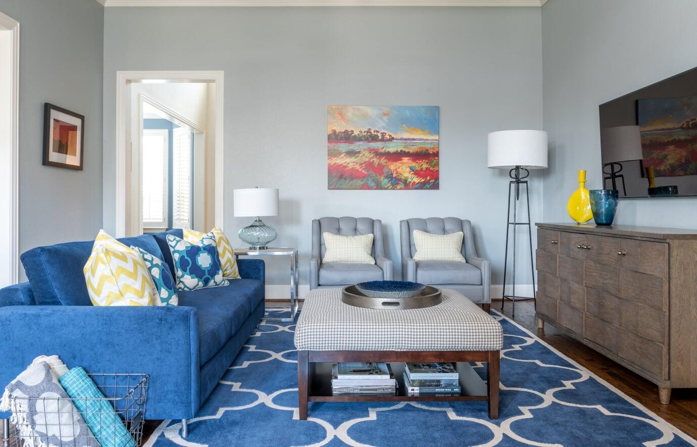 Sanders - Living Room 8 - Dallas Interior Designer serving Plano, Frisco, Dallas, Allen for Decorating Den Interiors D'KOR HOME by Dee Frazier Interiors