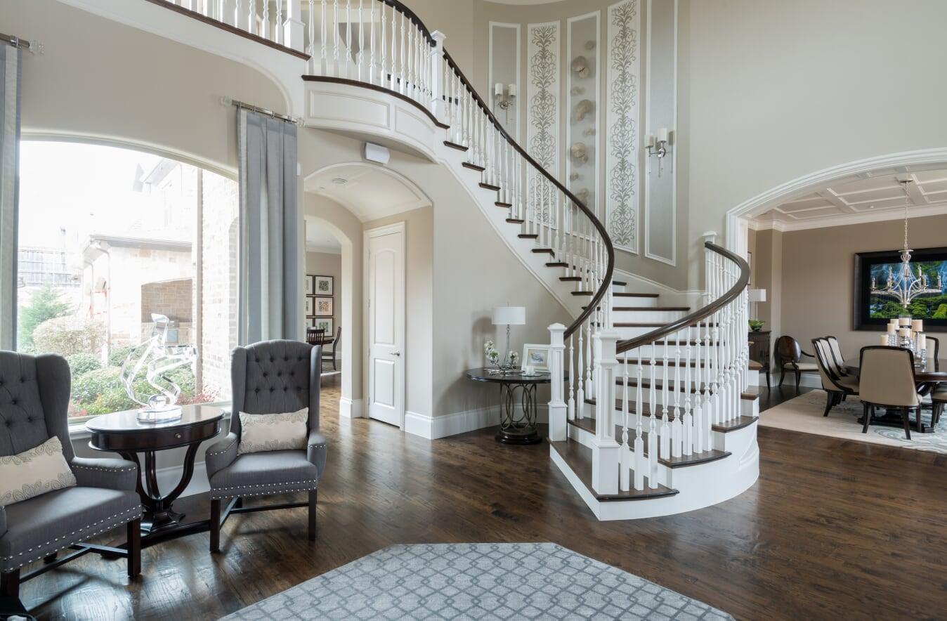Younas - Foyer 7 - Dallas Interior Designer serving Plano, Frisco, Dallas, Allen for Decorating Den Interiors D'KOR HOME by Dee Frazier Interiors