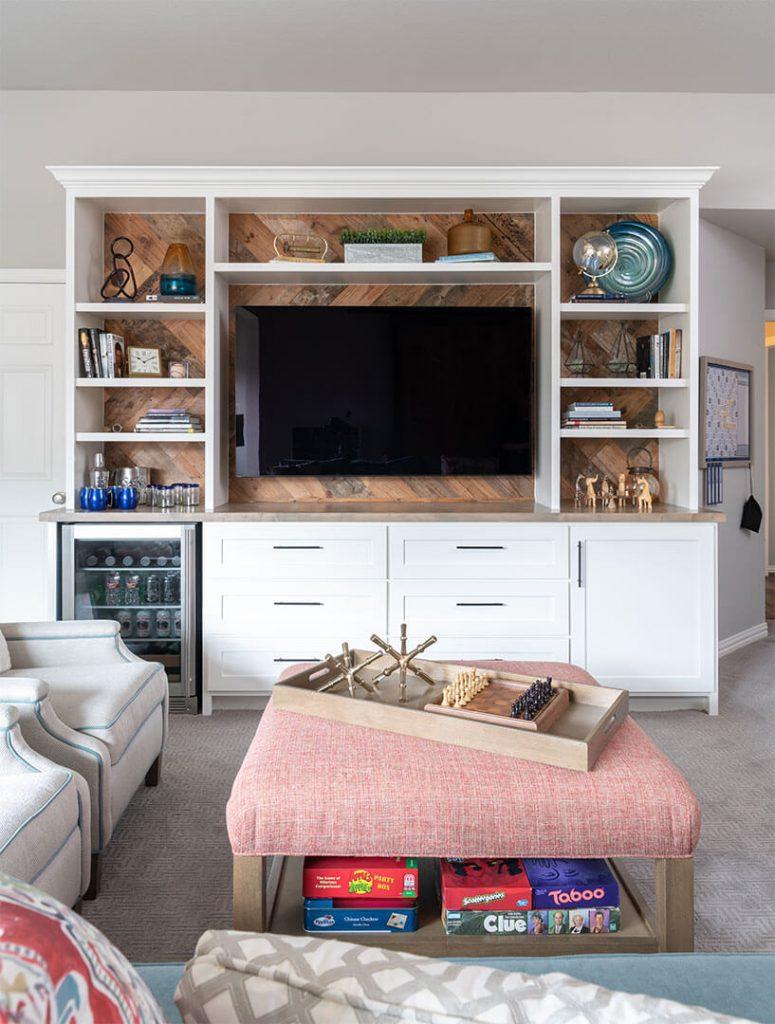 Plano, Texas, Designer Built In Cabinets, home renovation, basement design ideas, game room design ideas
