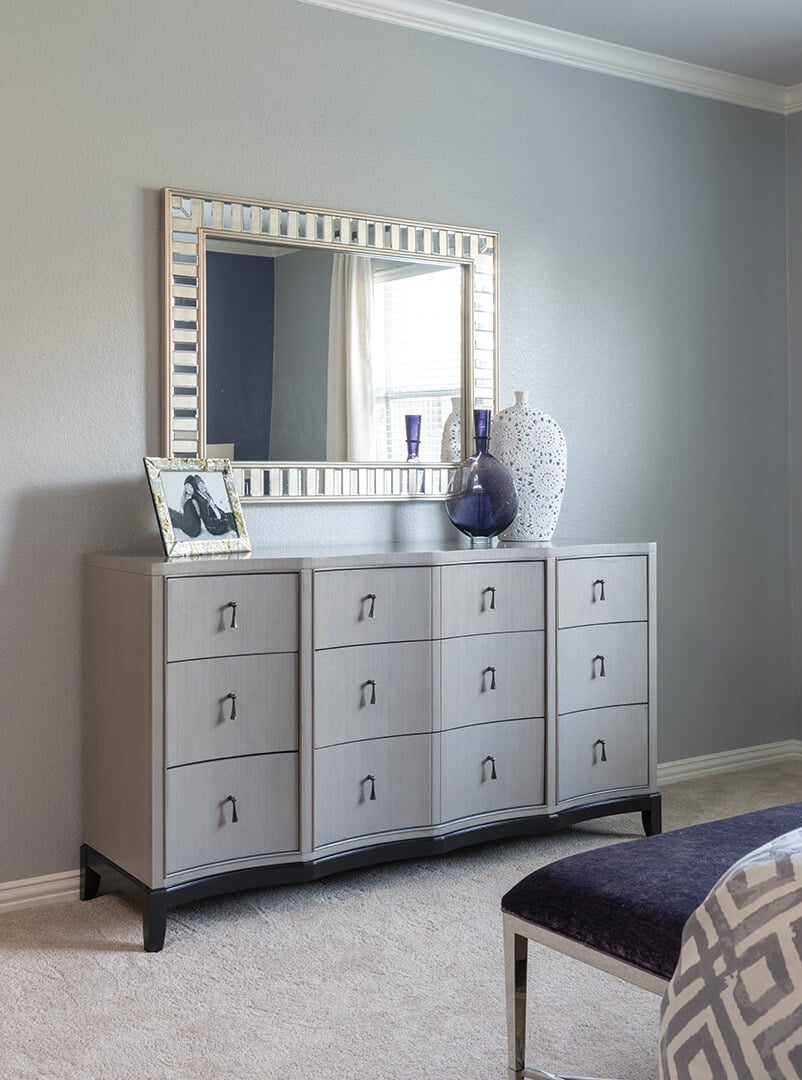 Contemporary or Transitional Master Bedroom Decorating Ideas by Dee Frazier Interiors Decorating Den Interiors the best Dallas Interior Designer