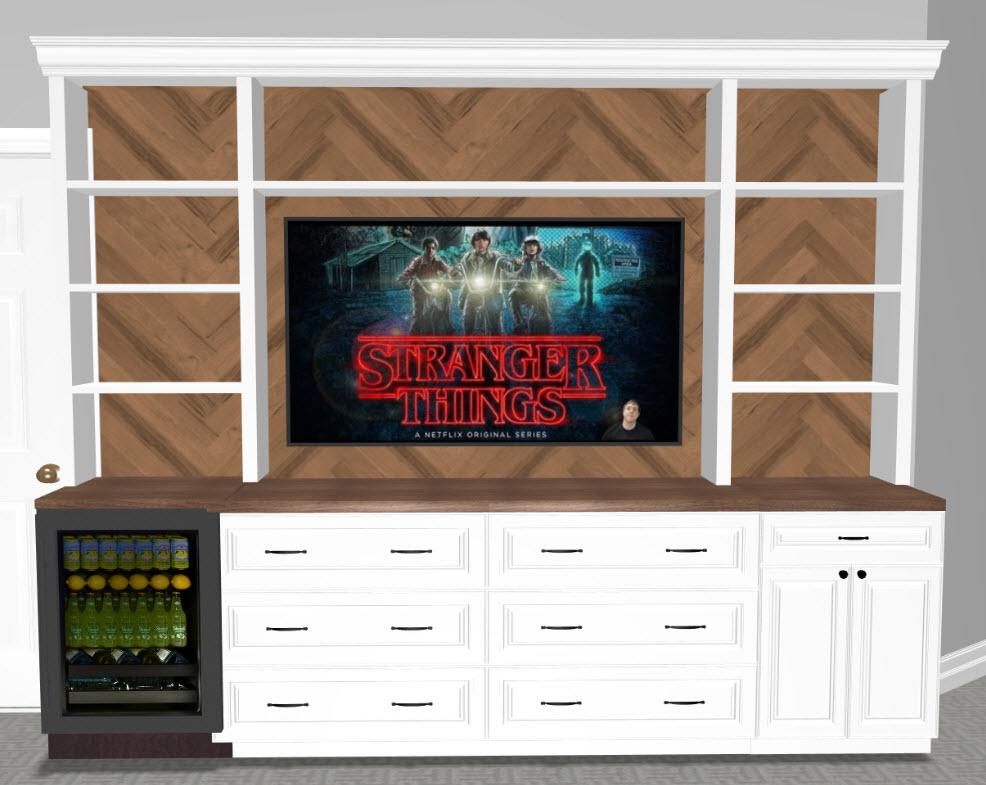 Stranger Things Basement Interior Design, home renovation, basement design ideas, game room design ideas