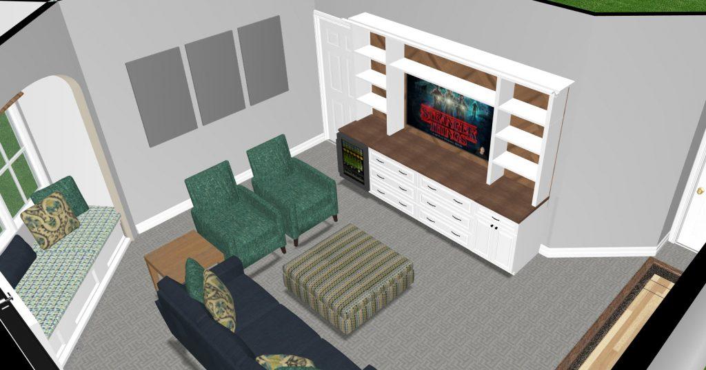 Plano, Texas, Basement Interior Design, home renovation, basement design ideas, game room design ideas