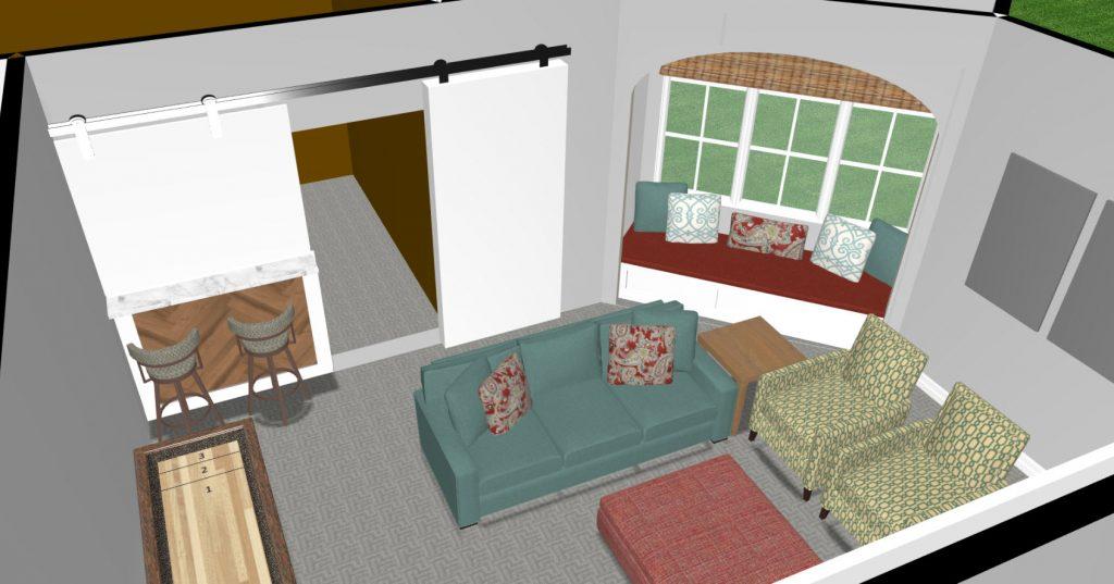 Plano, Texas, Basement Interior Design Ideas, home renovation, basement design ideas, game room design ideas