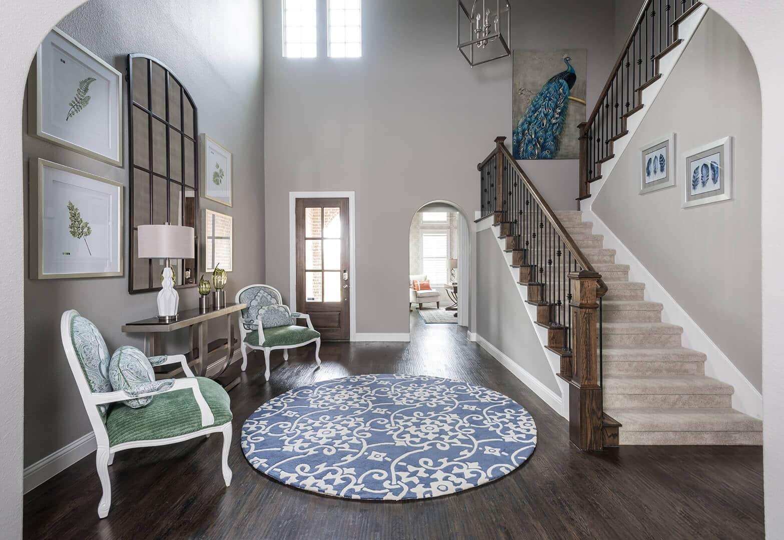 Foyer Renovation & Foyer Decorating Ideas | Dallas Interior Designer | Dallas Kitchen Designer