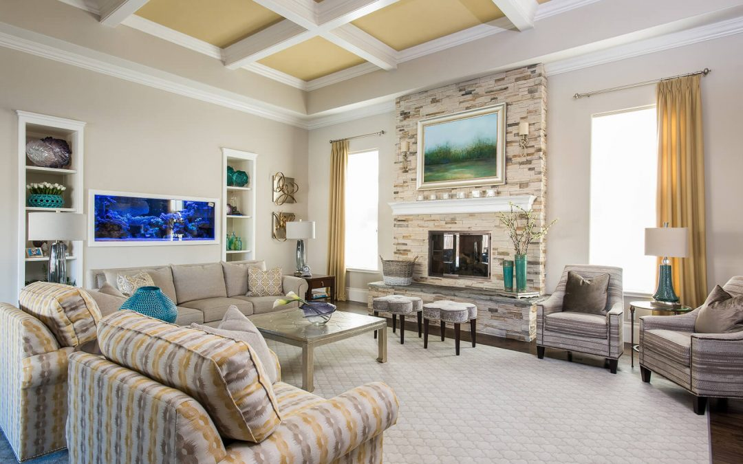 How To Incorporate a 150-Gallon Saltwater Aquarium & Save Your Marriage | Couples Design Therapy