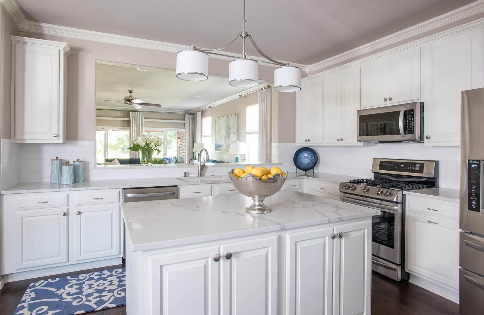 Blue & White Kitchen Decorating Ideas | Dallas Interior Designer | Dallas Interior Decorator