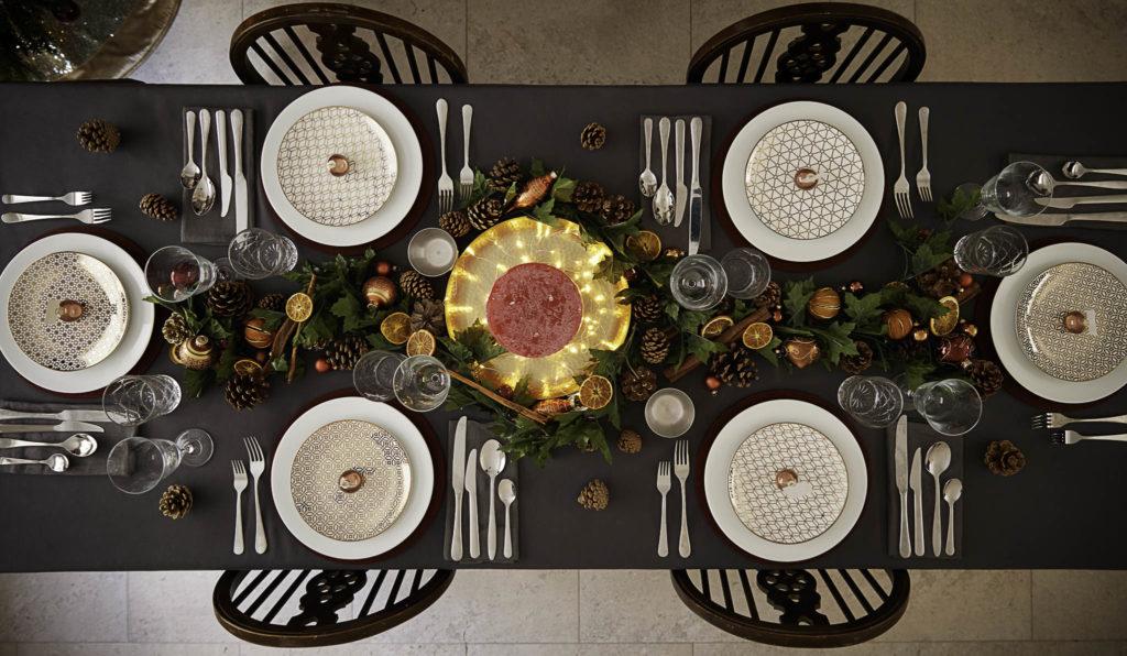 christmas table decorations, christmas decor, christmas table decor ideas