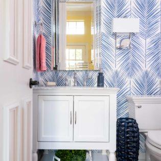 2020 Wallcovering Trends | Monochrome Wallpaper Is Back! Houzz Says So! 3 - Dallas Interior Designer serving Plano, Frisco, Dallas, Allen for Decorating Den Interiors D'KOR HOME by Dee Frazier Interiors