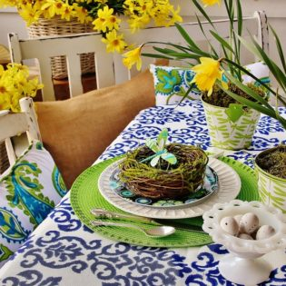Impress Your Guest! 53 Super Easter Home Decor & Easter Brunch Ideas 2 - Dallas Interior Designer serving Plano, Frisco, Dallas, Allen for Decorating Den Interiors D'KOR HOME by Dee Frazier Interiors